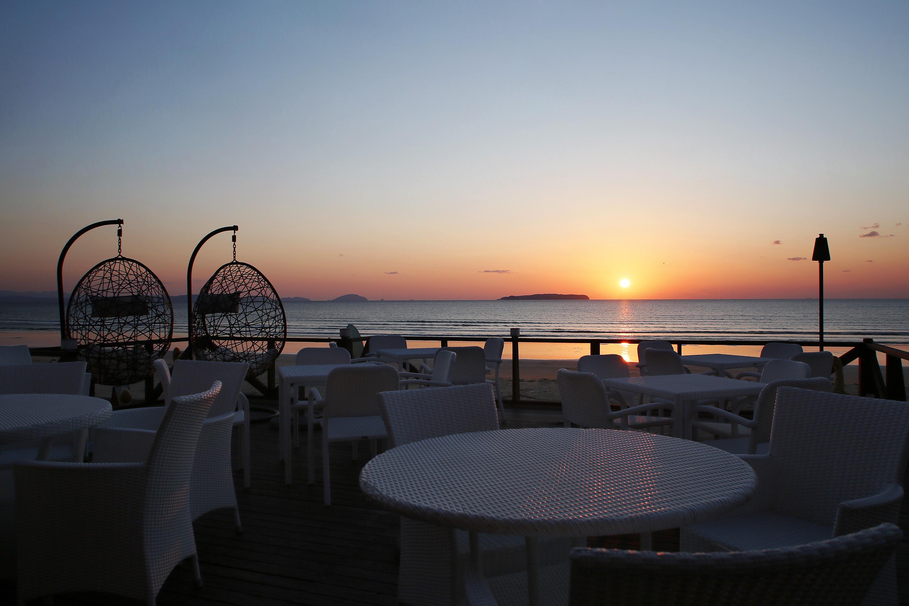 福間海岸 夕陽 BOCCOVILLA(ボッコヴィラ)